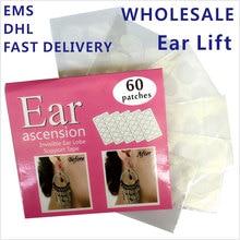 Vente en gros 100 paquets/Lot oreille ascenseur de Lobe doreille Support ruban parfait pour protéger loreille des grosses boucles doreilles lourdes