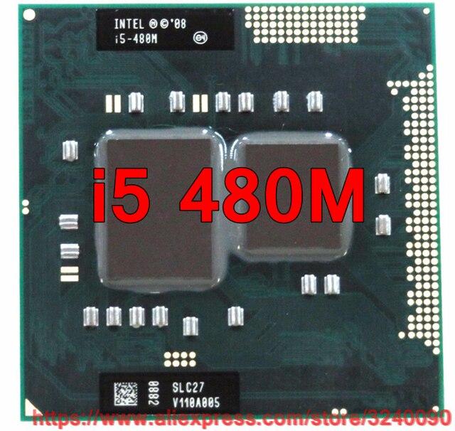Ban đầu lntel Core i5 480 m 2.66 ghz i5-480M Dual-Core Bộ Vi Xử Lý PGA988 Di Động CPU Máy Tính Xách Tay bộ vi xử lý miễn phí vận chuyển