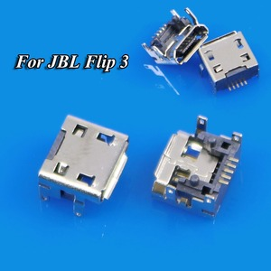 Image 3 - JCD JBL Flip 2 Flip 3 Bluetooth hoparlör mikro MINI USB jak soketi konnektör değiştirme onarım parçaları şarj portu şarj cihazı