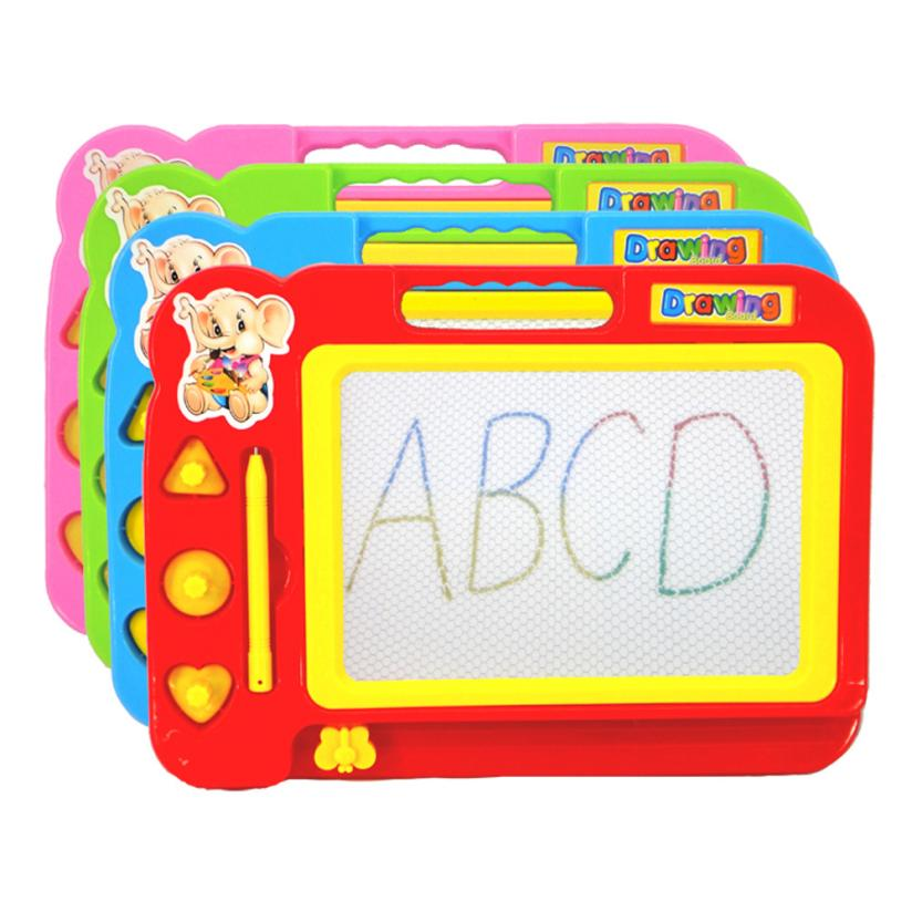 snowshine3 YLI Kid Color Magnetic Writing Painting Drawing Graffiti Board Toy Preschool Tool Table game
