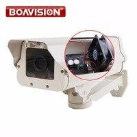 CCTV 카메라 하우징 알루미늄 합금 총알 상자 카메라 브라켓 극한 또는 따뜻한 야외 내장 히터