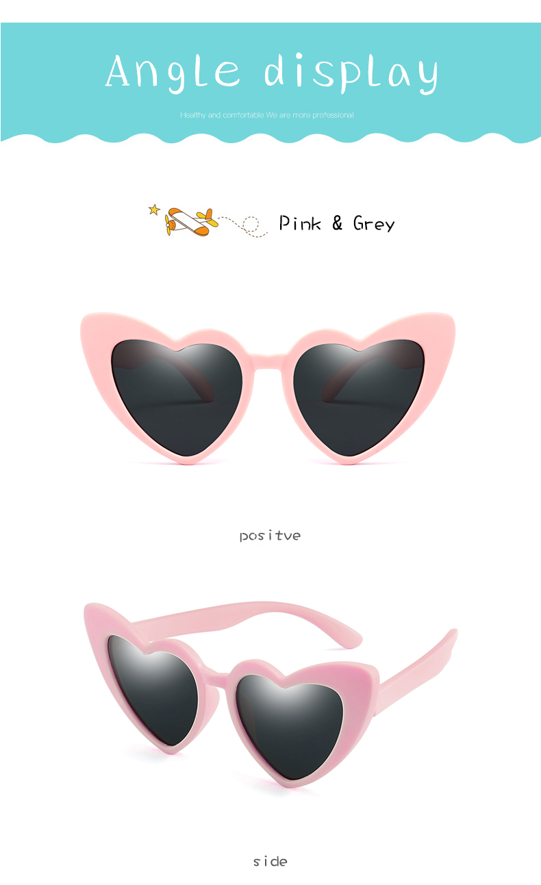 HTB1nADganjxK1Rjy0Fnq6yBaFXaZ - LongKeeper baby girl sunglasses for children heart TR90 black pink red heart sun glasses for kids polarized flexible uv400
