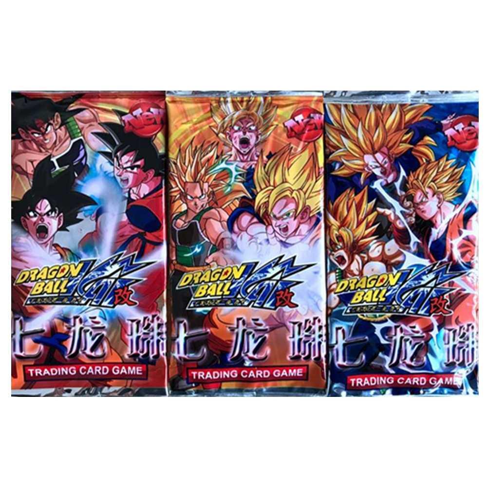 32 pçs/lote Cartões da Coleção Melhorada Versão Melhorada De Dragon Ball Super Saiyan Goku Vegeta Freeza Figuras de Ação Toy Kid Presente