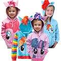 Novo 2016 Crianças outerwear crianças Hoodies casacos Meninas Casaco de inverno roupas Da Moda roupa dos miúdos do bebê Frete grátis