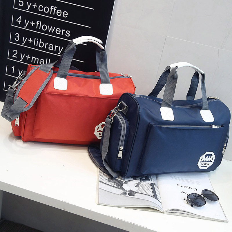 Han edition of large capacity can carry clothes bag hold-all waterproof travel bag men and women handbags luggage