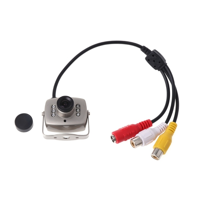 OOTDTY CCTV IR Wired Mini Camera Security Color Night Vision Infrared Video Recorder