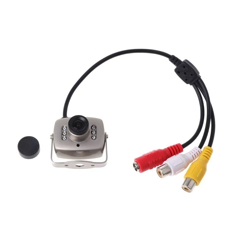 OOTDTY CCTV IR Wired Mini Kamera Sicherheit Farbe Nachtsicht Infrarot Video Recorder