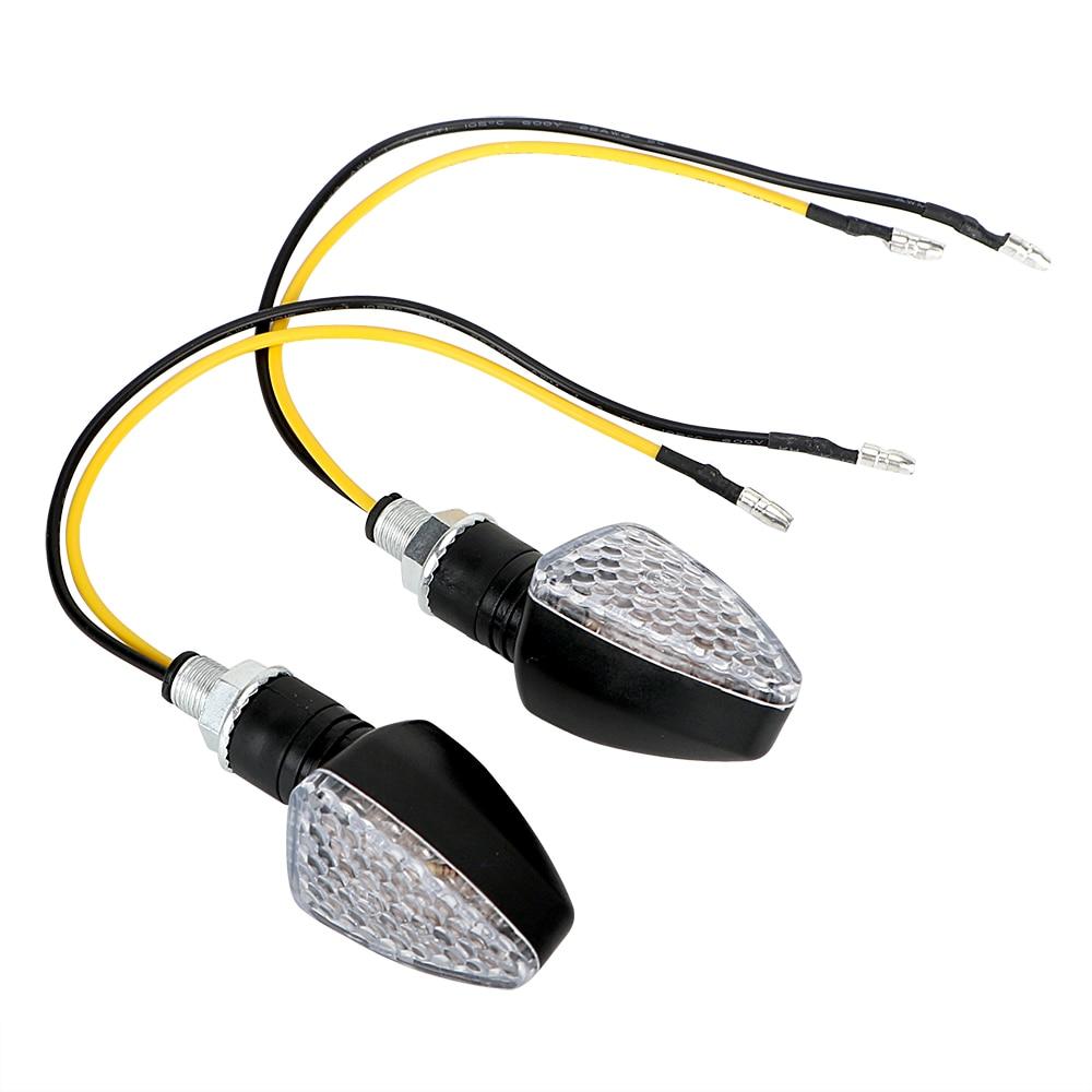 ITimo 12V 1 Pair Motorcycle Accessories Turn Signal Lamp 15 LEDs Motorbike Indicator Light Motorcycle Flasher LED Turn Light