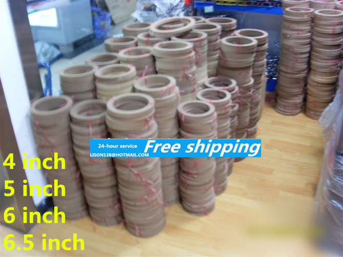 For 4 5 6 inch 6 5 inch speaker gasket washer one pair of speakers to