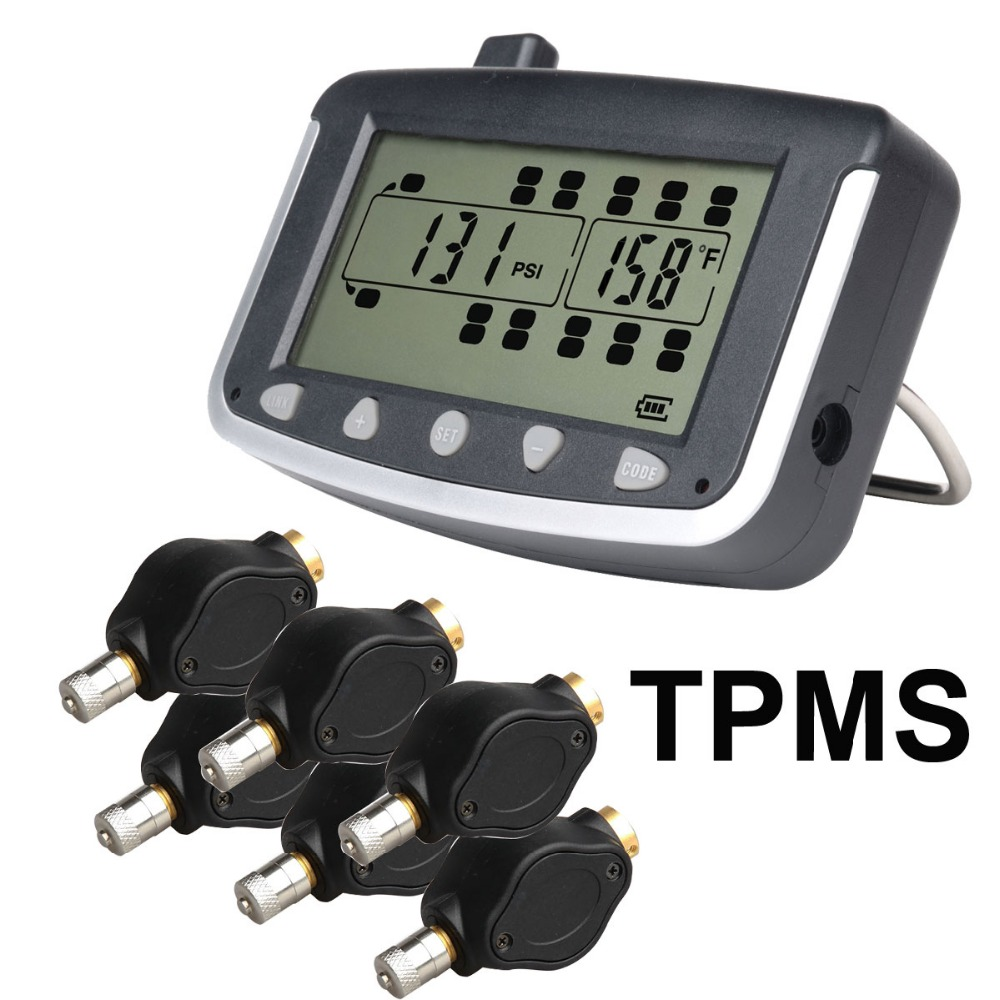 Tire Pressure Monitoring System Car Tpms With 6 Pcs