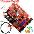 TF-S6UW0 + TF-910BS датчик яркости 1280*16 640*32 1 * HUB08 и 2 * HUB12 USB + WIFI Один и двойной цвет P10 P4.75 светодиодный контроллер