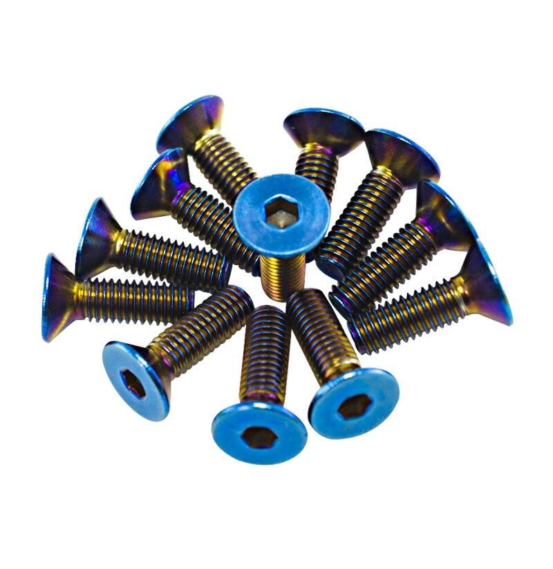WLR RACING-6 шт./лот сгоревшие титановые болты для рулевого колеса подходят для многих рулевых колес, набор для WLR-LS06CR-T