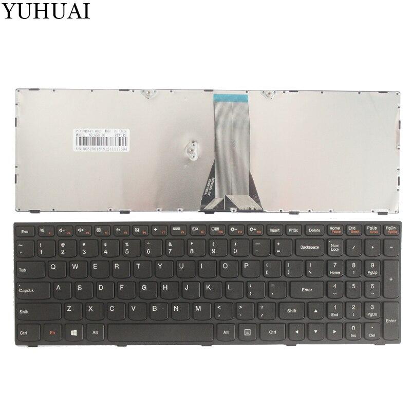 Новая клавиатура для ноутбука LENOVO E50-70 E50-80 B51 B51-30 B51-35 B71 G51 Flex 2-15 US на английском языке