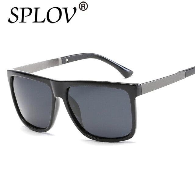 e39aa33523 2017 SPLOV Brand Fashion TAC Lens Polarized Sunglasses Men Fashion Male Eyewear  Sun Glasses Travel Driving Gafas De Sol
