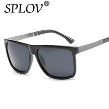 2017 SPLOV Marca TAC Lentes Polarizadas gafas de Sol de Moda Los Hombres de Moda Masculina Gafas de Sol Gafas de Viaje de Conducción Oculos gafas de sol