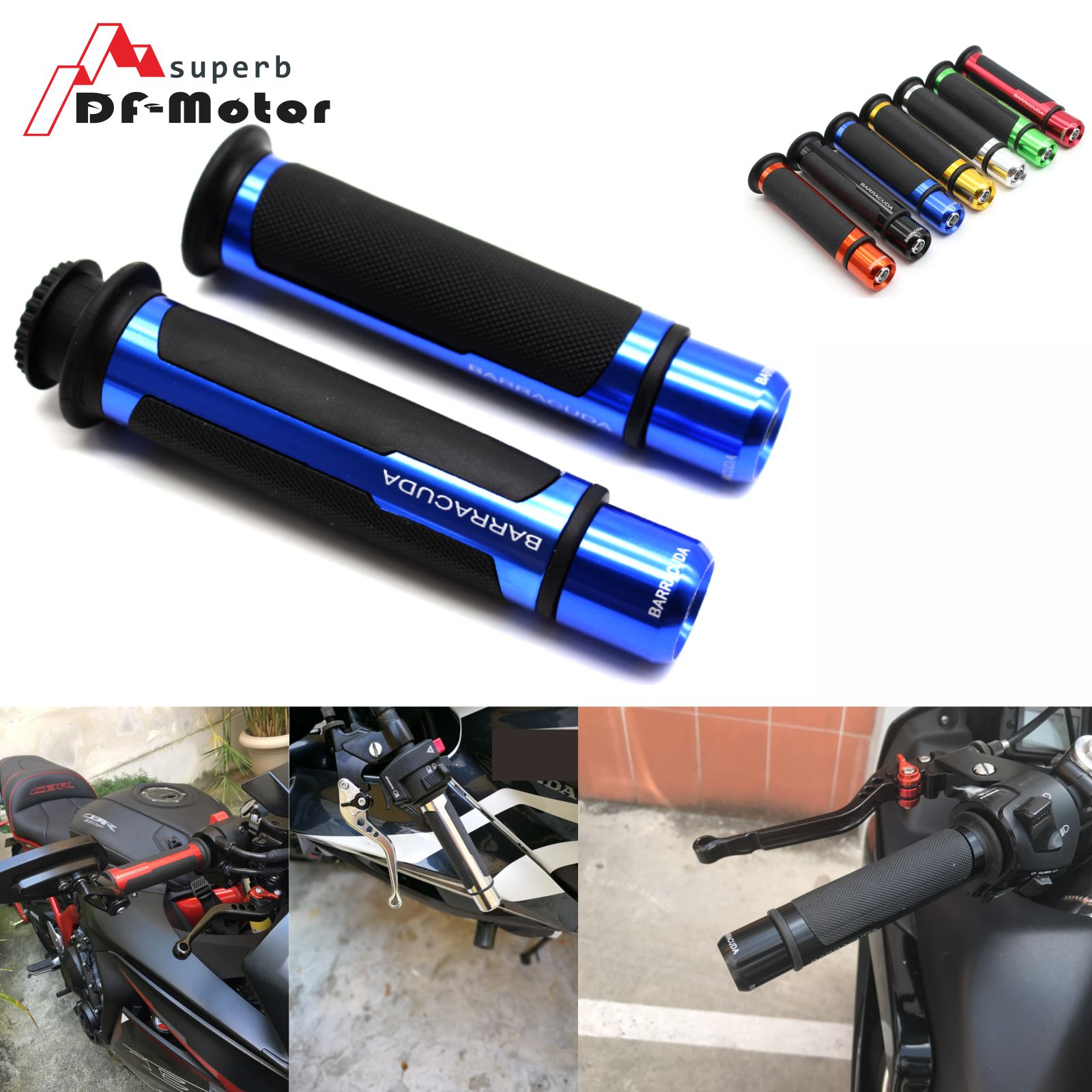 Motorcycle Accessories Handle Bar Grips Motorbike Handlebars For Honda CBR 250R 400RR 500R 600 600F 600RR F2 F3 F4 F4I 1000RR