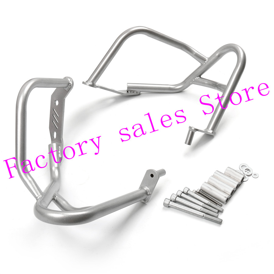 For BMW R1200R R 1200R 1200 R 2007-2014 silver Crash Protection Bars Engine Guard  Protective Frame 2008 2009 2011 2010 2013 chrome motorycle front engine protection crash bars guard protector for bmw k1600gtl 2011 2016 15 14 13 12 new