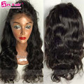 Human Hair Human Hair Lace Front Wigs 4x4 Silk Top Wavy 7A Full Lace Wigs Virgin Natural Hairline Unprocessed Lace Front Wigs