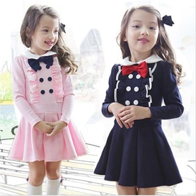897 spring autumn children dress long sleeve girls dress nova kids girl clothes kids frocks for baby children clothing цены онлайн