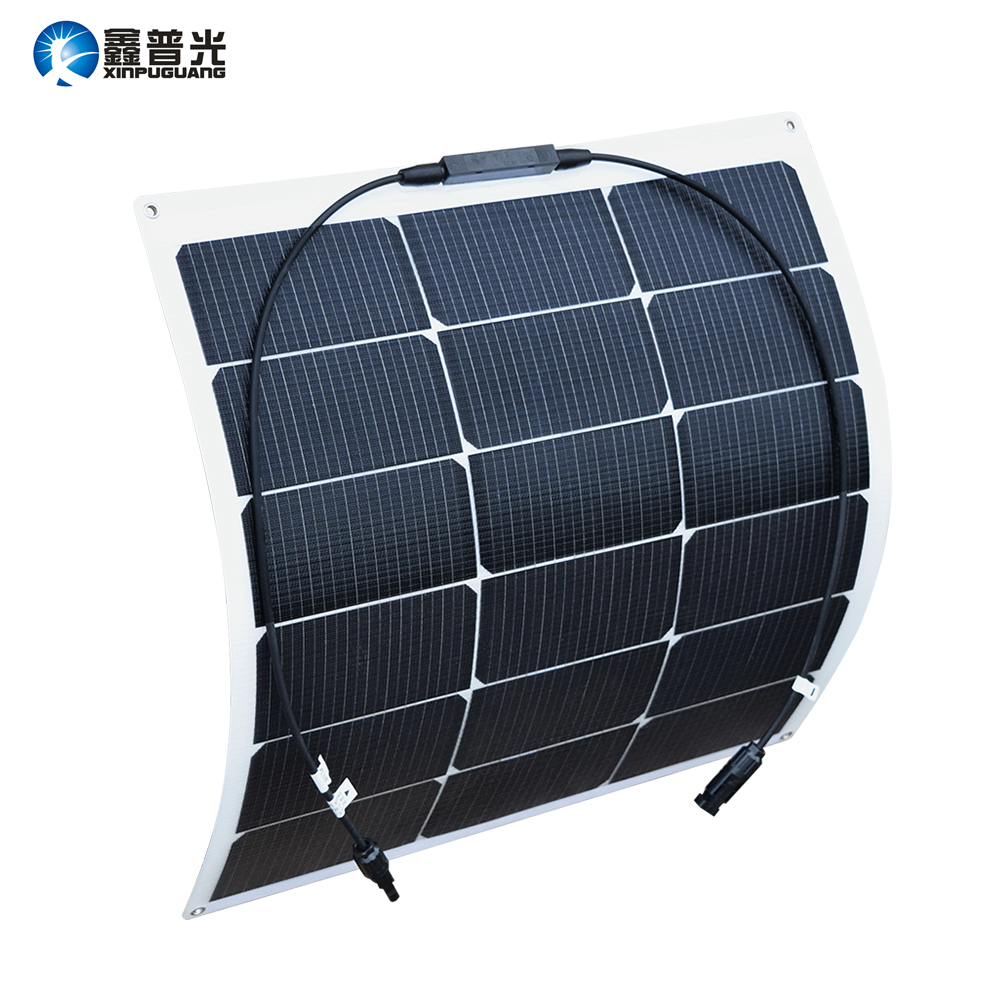 45W 9V ETFE Flexible Solar Panel New High Efficiency Monocrystalline Silicon Cell Module for 5v 3.7v Battery RV Phone Charger
