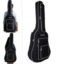 41 pouces entièrement rembourré housse de guitare étanche musique douce acoustique sac classique