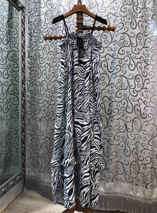 En été 2019 nouvelle robe à rayures femmes 419