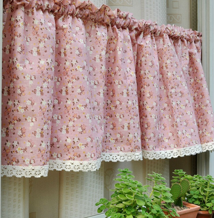 cortinas cortas para cocina