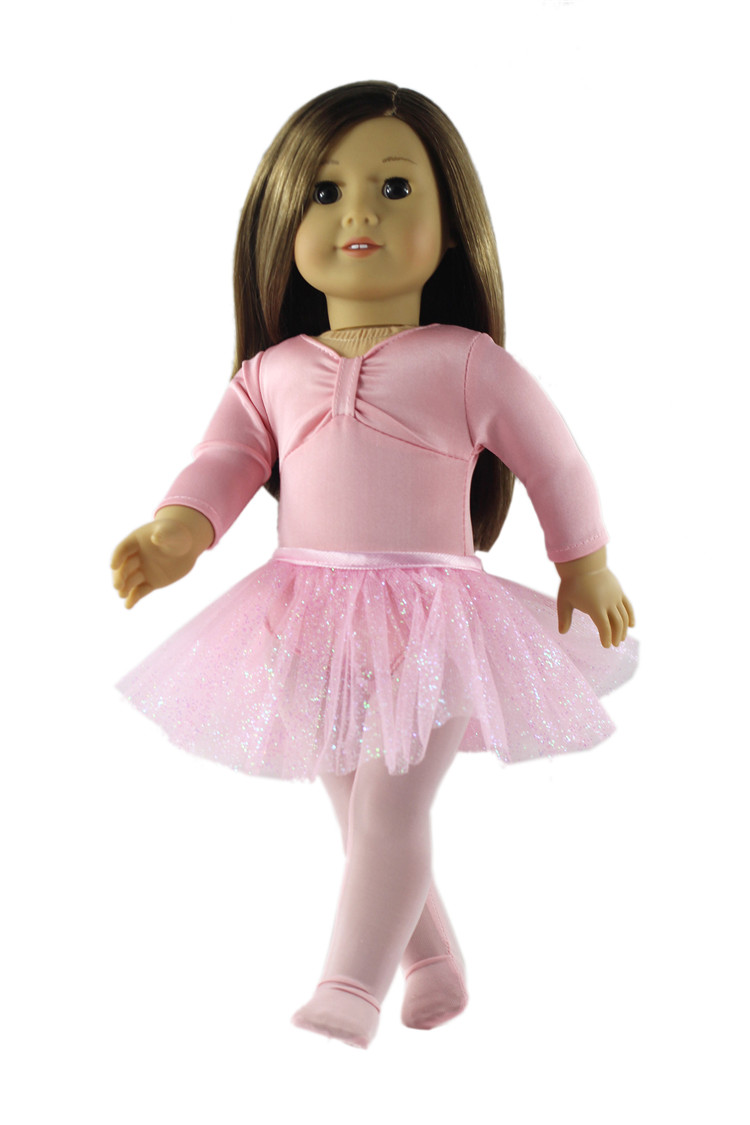 18inch Girl Doll Princess Skirt for American Doll Clothing Accs Kids Gifts