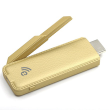 Practical-NEW Miracast HDMI Dongle 1080P TV DLNA Airplay Wireless Display Receiver Gold