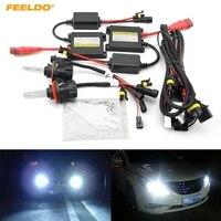 Car Headlight H13 HID Xenon Bulb Hi Lo Beam Bi Xenon Bulb Light 35W DC12V Slim