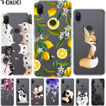 hot deal buy 5.84'' for xiaomi mi play case silicone clear soft tpu cover for xiaomi mi play case painting phone cases for xiaomi play funda