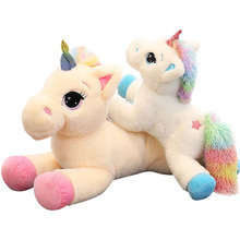 40/60CM Big Size Plush Toy Soft Stuffed Cartoon Dolls Animal Horse High Quality Gift for dropshiping Super Cute