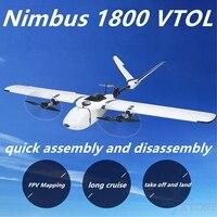 MFD Nimbus 1800 Long Range VTOL NIMBUS_VTOL Fixed Wing UAV Drones Mapping Version PNP