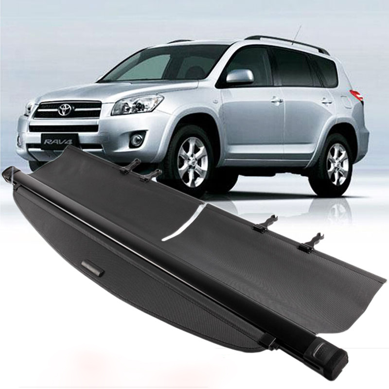 For Toyota RAV4 RAV 4 2009 2010 2011 2012 2013 Rear Cargo privacy Cover Trunk Screen Security Shield shade (Black, beige) цены