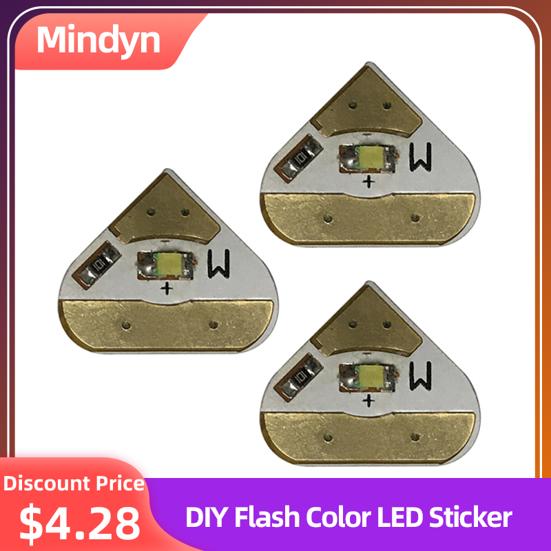 Electronic Color LED Stickers Children DIY Handmade Painting Educational Circuit Material Handcrafted Puzzle Toys Card Crafts