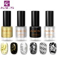 KADS New Arrival Two In One Nail Polish and Stamping Polish 4PCS/SET 7 Optional Set Nail Stamping Manciure Art Lacquer