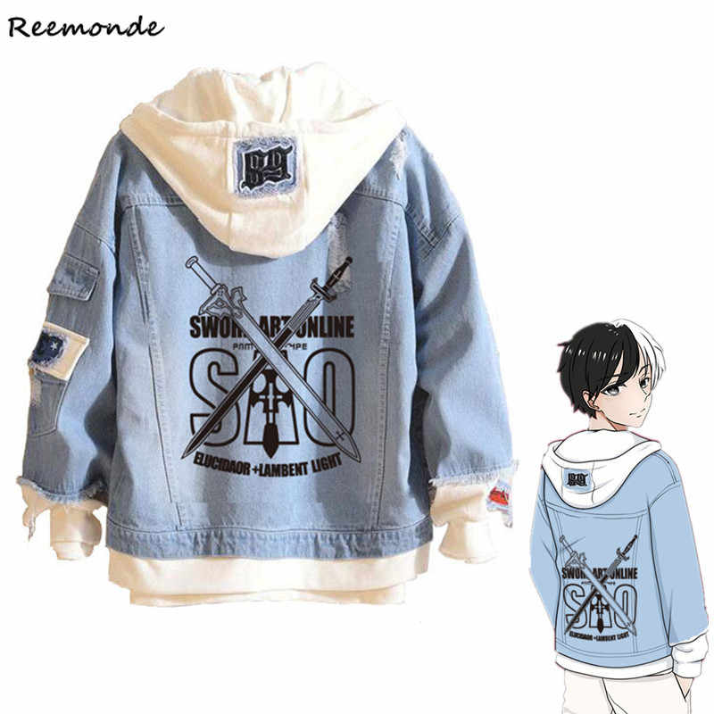 Anime Boku No My Hero Academia Shoto todorki 코스프레 의상 Hokage Blue 데님 자켓 까마귀 남성용 Girls Boys Spring Coat