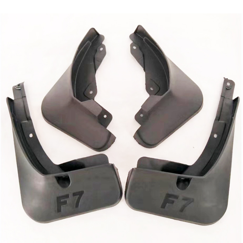 Free Shipping High Quality ABS Plastics Automobile Fender Mudguards Mud Flaps For Great Wall Haval F7 F7X