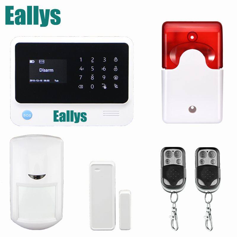 Wireless GSM Alarme Systems WIFI Alarm Touchscreen G90B Android IOS APP control, 5 Language Switchable, DHL Free Shipping детская игрушка new wifi ios