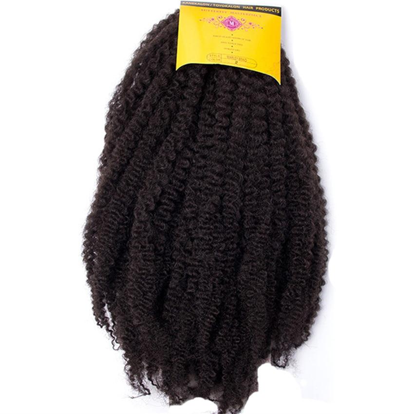 Feibin Crochet Twist Braids Freetress Hårförlängning Syntetisk Afro Hår 18 tum Gratis frakt