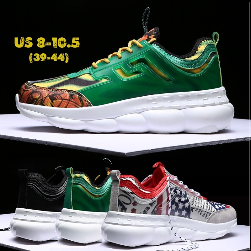 Sycatree 2019 Mode Hommes chaussures décontractées Harajuku Style Baskets Respirant Maille sport Chaussures De sport décontracté Ballerines Marche Baskets