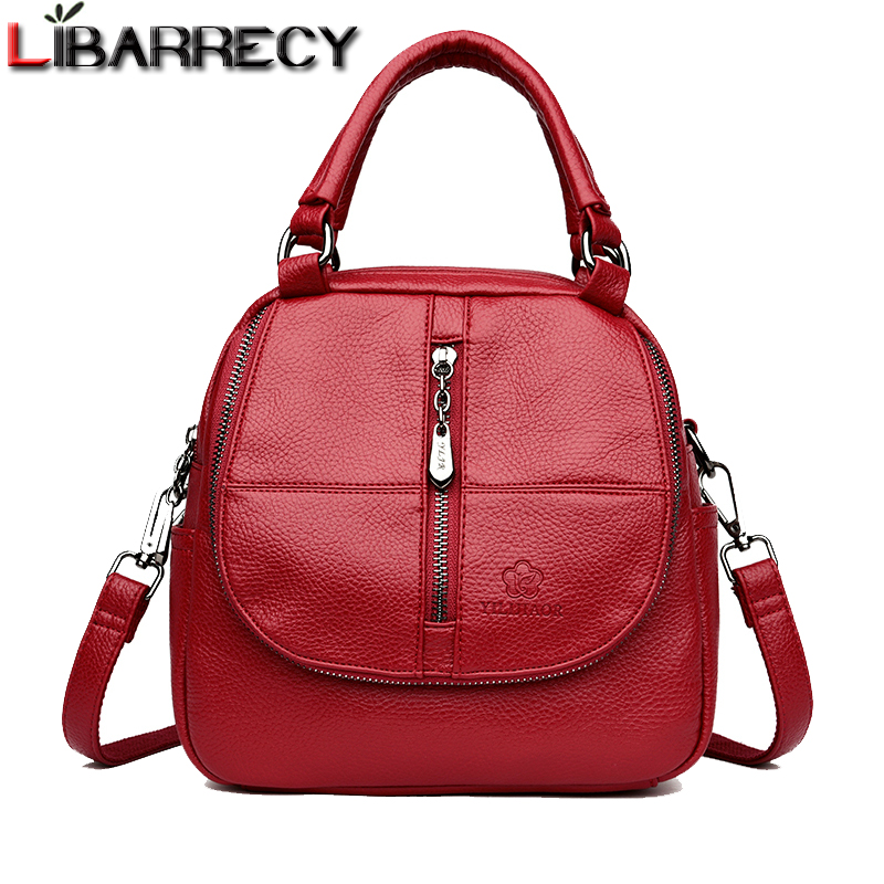 Famous Brand Womens Backpack Small School Bag for Girls Casual backpack female High Quality Leather Shoulder Bag For Women 2018Famous Brand Womens Backpack Small School Bag for Girls Casual backpack female High Quality Leather Shoulder Bag For Women 2018