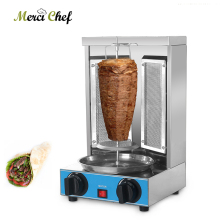 ITOP shawarma Grill Machine, Gas Broiler Doner kebab  Vertical Automatic Rotating BBQ Fast Heating