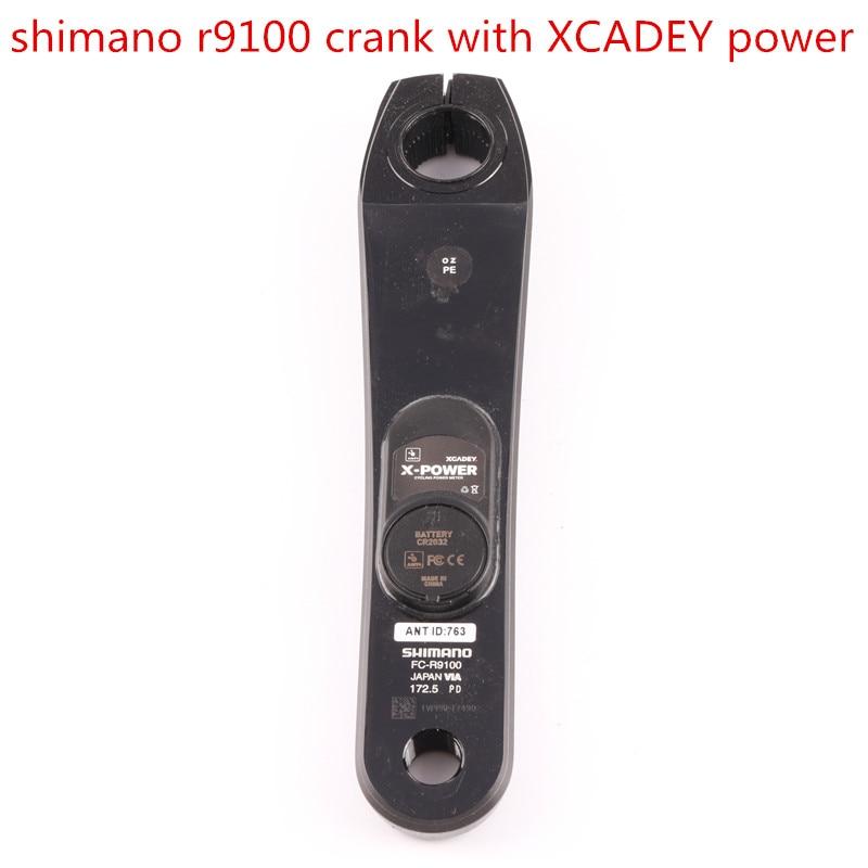 Shimano DURA ACE R9100 POWER Crankset XCADEY X POWER METER Crank 170mm 172 5mm 175mm Left