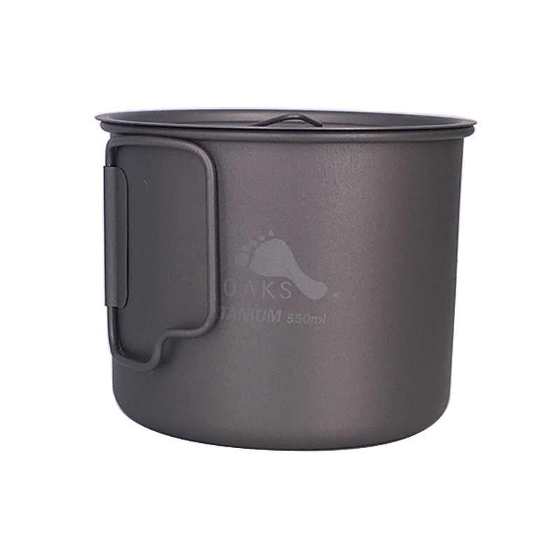 TOAKS Открытый Туризм Кемпинг Пикник Титан горшок Кружка чаша 3 в 1 легкий туристическое снаряжение POT-500ml