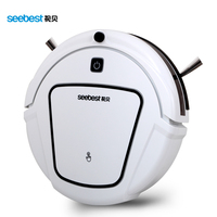 Dry Automatic Rechargeable Cheap Robot Vacuum Clean With Two Side Brush Edge Clean Time Schedule Seebest