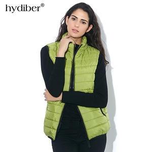 hydiber Coat Women Waistcoat Female Sleeveless Jacket 93586b8b7a