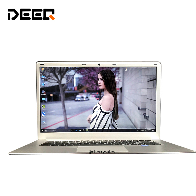 DEEQ Gaming Laptop 6GB 64GB 120GB 240GB 15.6inch N3455 Windows 10 Free Language OS Fast Boot Notebook Free Russian Sticker Keybo