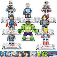 Presale Dargo 855 Building Blocks Super Heroes Avengers Crystal Clear Ultron Minifigures Iron Man Hulk Bricks Mini Figures