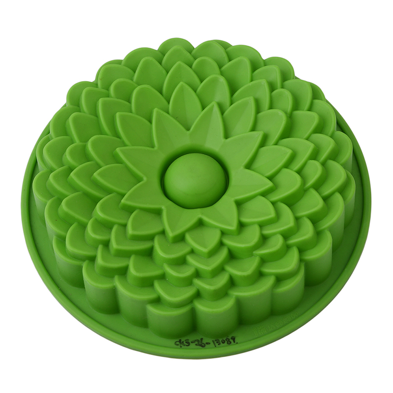 Flower Shape Silicone Mold For Baking Cake Form Bakery Silicone Molds Bakeware Silicone Form For Cakes Bread Pan Chriatmas